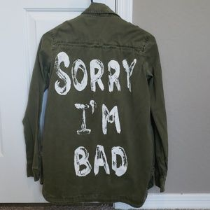 GUC FOREVER 21 MILITARY JACKET
